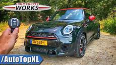 2019 mini jcw review 2019 mini jcw review test drive on autobahn road by