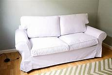 custom ikea slipcovers custom ikea ektorp sofa bed cover 2 seater in gaia white