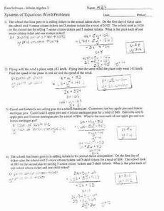 system of equations word problems worksheet homeschooldressage com