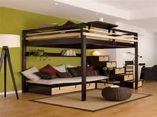 hochbett mit couch hochbett f 252 r erwachsene 30 super ideen archzine net
