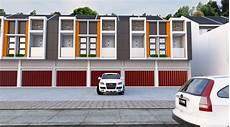 Gambar Desain Ruko Minimalis Modern 3 Lantai Tak Depan