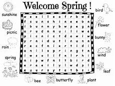 spring word search with pictures by maria perillo tpt