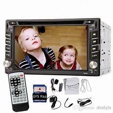 6 2 double 2 din car dvd player auto radio stereo gps nav dvb t t digital bluetooth gps