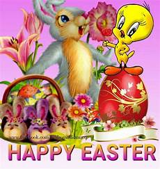 tweety bunny happy easter image pictures photos and