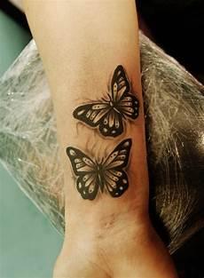 Schmetterling Handgelenk - wrist butterflies by nevermore ink deviantart on
