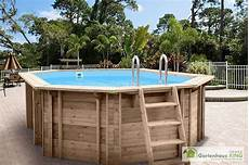 Pool Bausatz Holz Interline Holzpool Bali 840x490x138 Cm Poolset 3