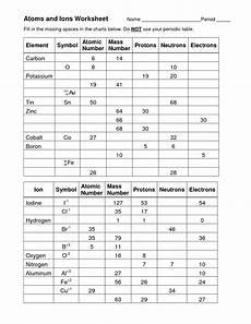 13 best images of element symbols worksheet answer key periodic table worksheet answer key