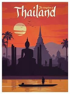 ideastorm studio store vintage thailand poster
