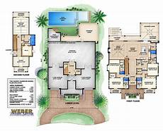 3 story floor plans style house plans 4435 square foot home 3 story