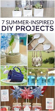 summer inspired diy projects place of my taste