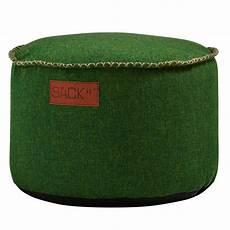 sitzhocker rund sackit sitzhocker rund retroit cobana drum green in und