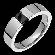 new mens titanium ring black onyx ring tension wedding