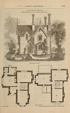 old english cottage house plans samuel sloan old english cottage perspective with first