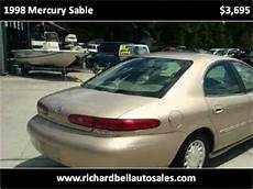 car manuals free online 1998 mercury sable parking system 1998 mercury sable problems online manuals and repair information