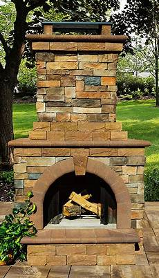 cambridge fully assembled stone veneer outdoor fireplace 9 brothers building supply
