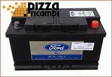Batteria Auto Originale Ford Silver Calcium 315x175x175