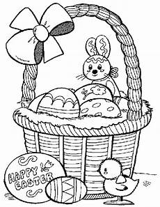 easter pages to color coloring pages part 3