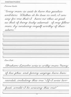 cursive handwriting worksheets for 8th grade 22019 45 united states presidents character writing worksheets