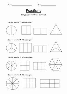 fraction worksheets colouring 3874 colouring fractions worksheet by kellya89 teaching resources tes