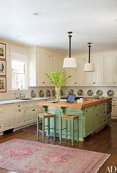 17 colorful painted kitchen cabinets photos architectural digest