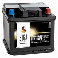 Siga Autobatterie 12v 44ah Trocken Vorgeladen