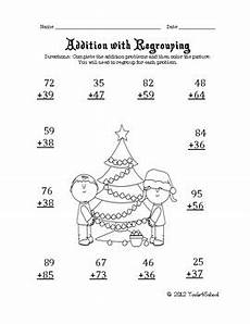 christmas math worksheets 3rd grade by tools4school tpt