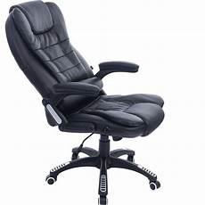 executive pu leather recline padded office swivel