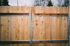 zauntor selber bauen custom gates fenceman fence company vancouver