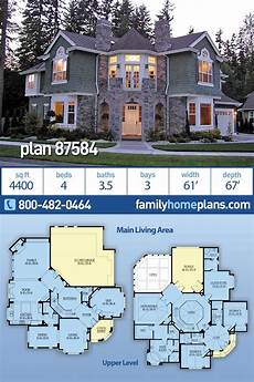 plan 149005and downsized exclusive 3 bed house plan traditional luxury house plan 87584 has 4400 sq ft 4