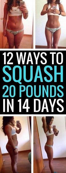 12 best ways to lose 20 pounds in just 2 short weeks