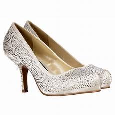 Low Heeled Wedding Shoes Uk