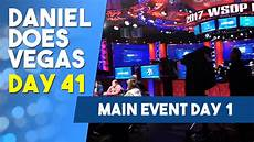 the event day one wsop vlog day 41