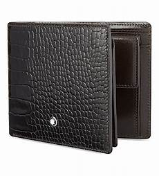 montblanc meisterst 252 ck selection wallet with coin