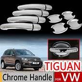 For VW Tiguan Chrome Door Handles Covers 2007 2016