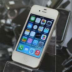 Apple Iphone 4 8gb White Excellent Used At T Smartphone