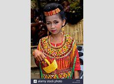 Indonesian Women Clothes Dress Stock Photos & Indonesian