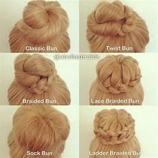 bun type hairstyles six different types of high bun hair