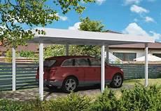carport und garage aus aluminium flachdachcarport 4m kaufen