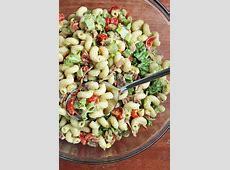 weight watchers avocado and tomato pasta salad_image