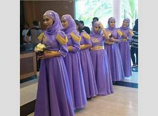6 Modest Bridesmaid Dresses For Muslim Weddings With Hijab