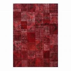 rot vintage patchwork flicken teppich 430x300cm