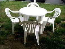 salon de jardin table ronde pvc best en plastique photos
