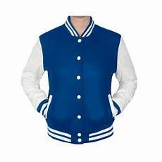 classics oldschool college jacke girly royal blue