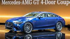 2019 mercedes amg gt 4 door coupe starts at 136 500
