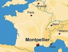 location montpellier school location map ila language school