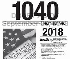 irs releases draft instructions for 2018 form 1040 grossman yanak ford llp