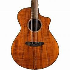 breedlove acoustic guitar breedlove pursuit concert koa acoustic electric guitar music123