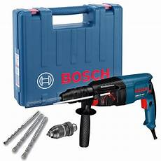 bosch gbh 2 26 dfr sds plus rotary hammer drill in carry