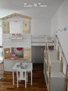 ikea hochbett kinder zaubersterne kinder t raum fortsetzung diy hochbetthaus kinderzimmer bett und