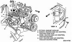 1991 Chevy Astro Heat Only Blows Up And Not Front Or